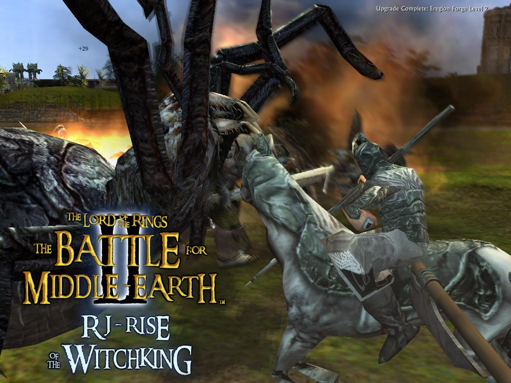 The lord of the rings: the battle for middle earth ii – the rise.